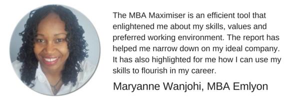 Career Farm MBA Maximiser Testimonial - Mary Wanjohi MBA Emlyon