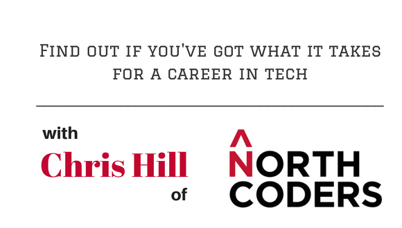 The Career Farm Podcast Episode 84 - Find out if you've got what it takes for a career in tech - with Chris Hill of Northcoders