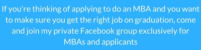 MBA Facebook Group Invitation