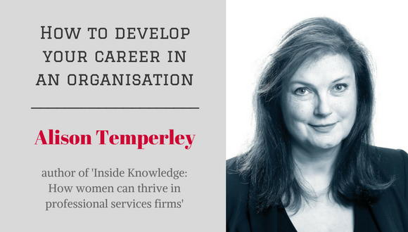 The Career Farm Podcast Episode 81 - How to develop your career in an organisation, with Alison Temperely
