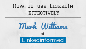 How to use LinkedIn effectively to job search